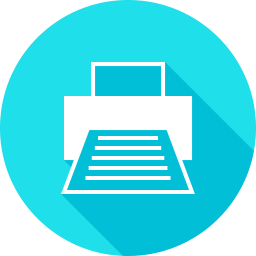 Faxのフラットアイコン 素材牧場 無料 商用利用可のアイコン素材サイト