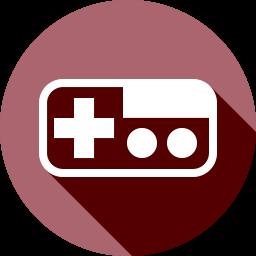 コントローラーのフラットアイコン 素材牧場 無料 商用利用可のアイコン素材サイト