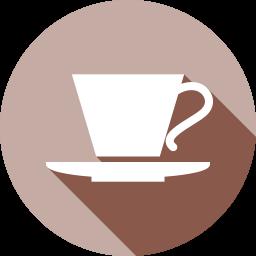 喫茶店のフラットアイコン 素材牧場 無料 商用利用可のアイコン素材サイト
