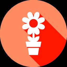 花のフラットアイコン 素材牧場 無料 商用利用可のアイコン素材サイト