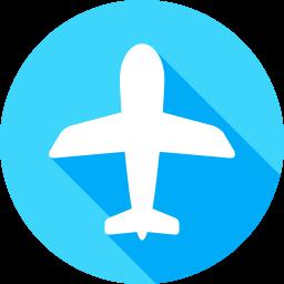 飛行機のフラットアイコン 素材牧場 無料 商用利用可のアイコン素材サイト