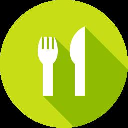 レストランのフラットアイコン 素材牧場 無料 商用利用可のアイコン素材サイト